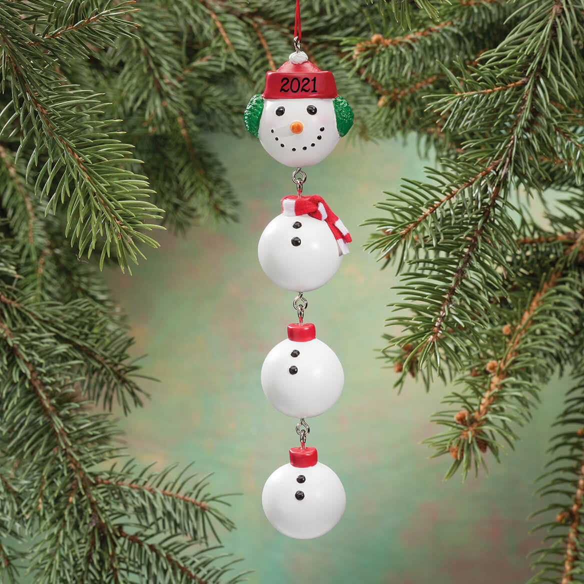 Snowman Family Ornament Snowman Christmas Ornament