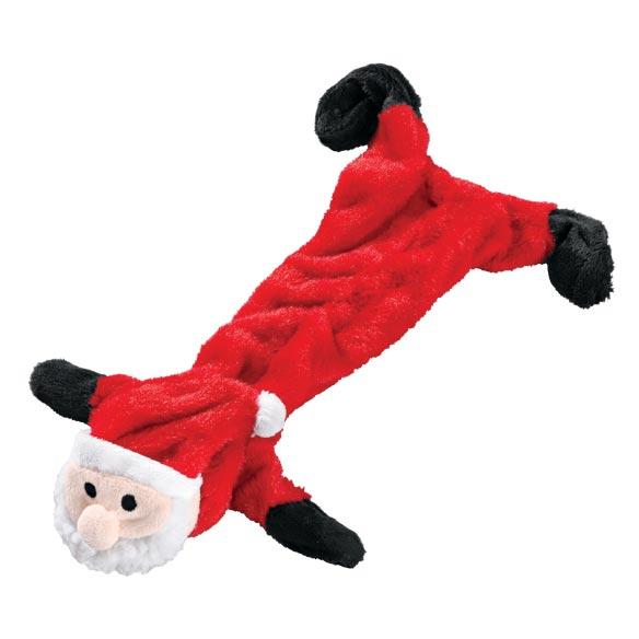 Stuffing Free Christmas Dog Toys, Set of 3-346235
