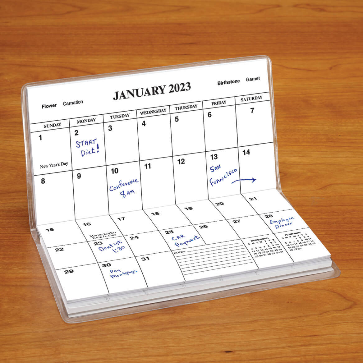 Personalized Footprints 2 Year Planner-346369
