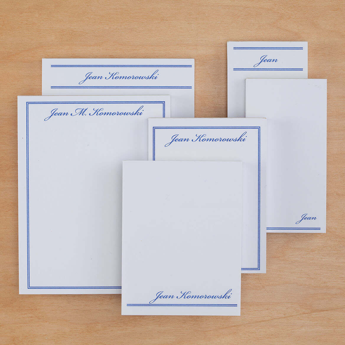 Personalized Classic Basketful of Notepads Refill-346515