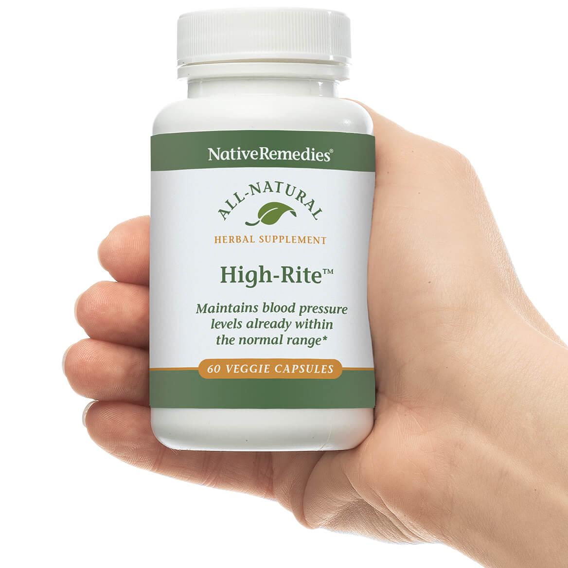 NativeRemedies® High-Rite™ Veggie Cap-346772