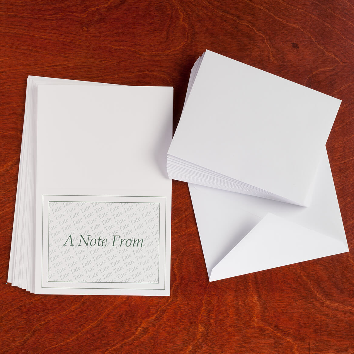 """Personalized """"A Note From"""" Cards - Set Of 25-346846"""