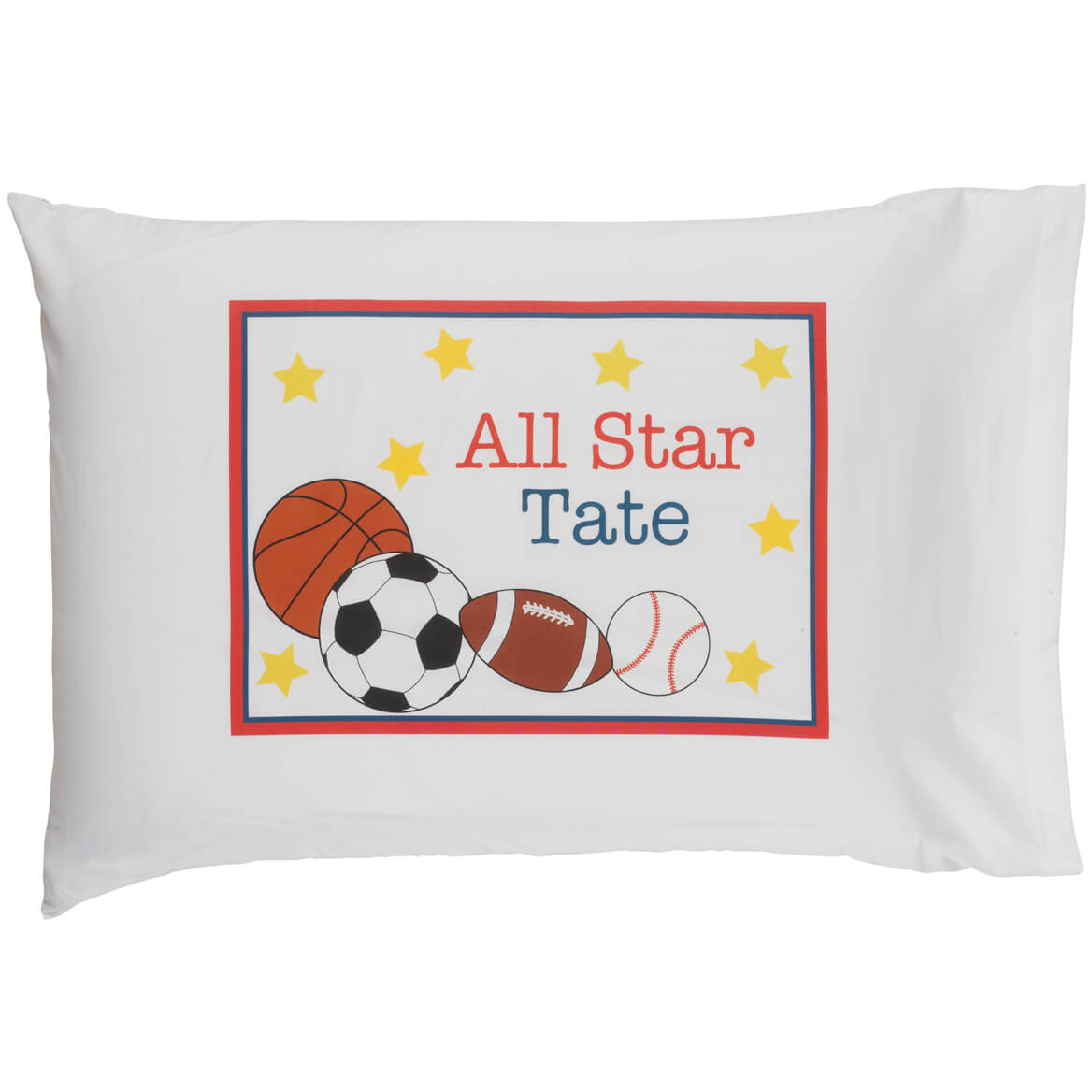 Personalized All Star Pillowcase-347264