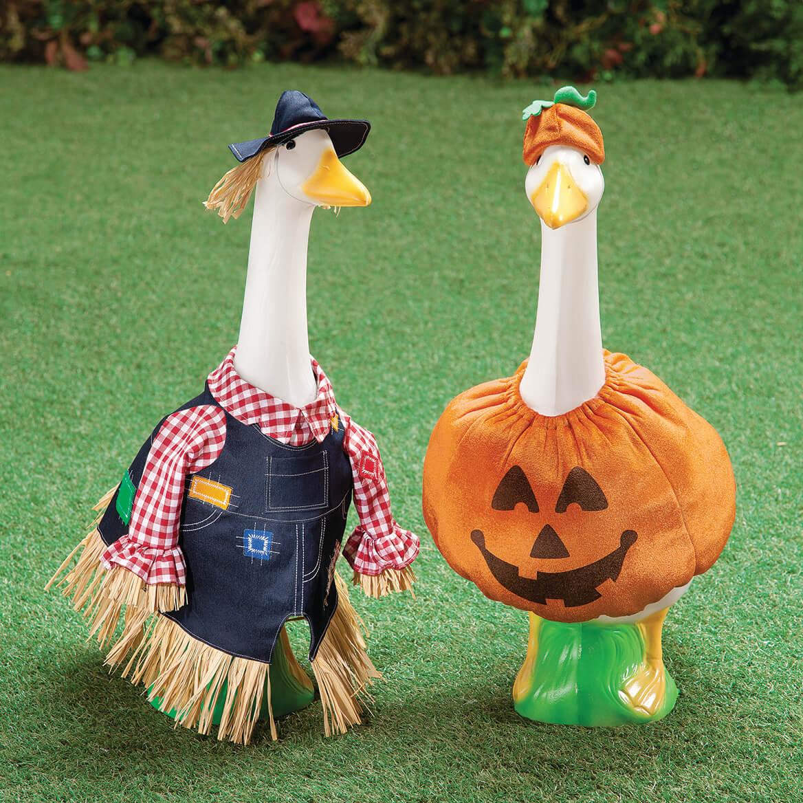 Pumpkin Goose Outfit-349058