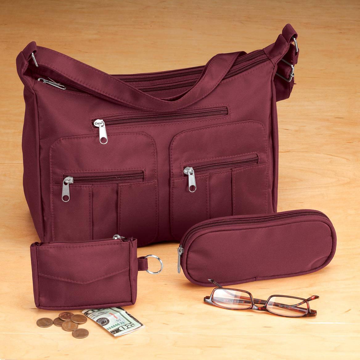 Microfiber 3-Piece Handbag Set-349300