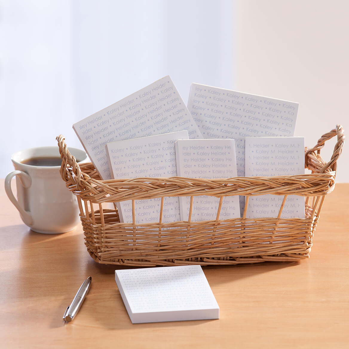 Personalized Repeating Name Notepads-349466