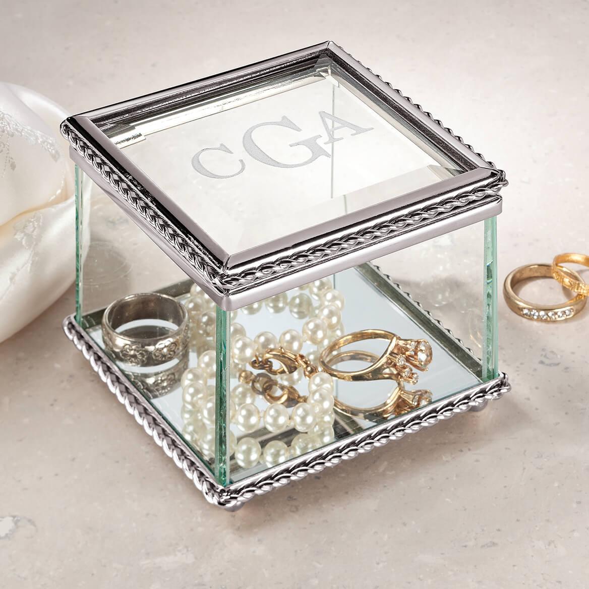 Personalized Glass Treasure Box-349531