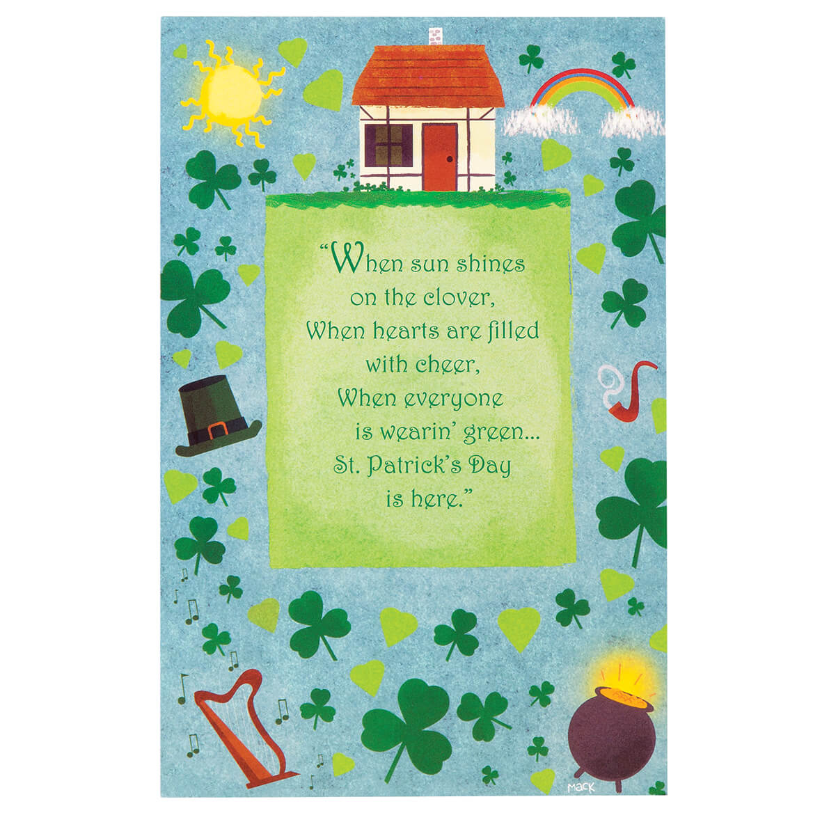 St. Patrick's Day Card Assortment, Set of 20-350354