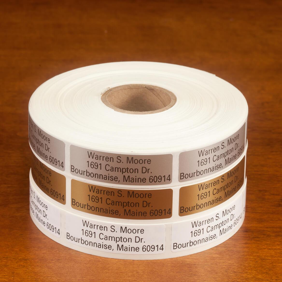 Large Print Self-Stick Address Labels, Roll of 1000-350737