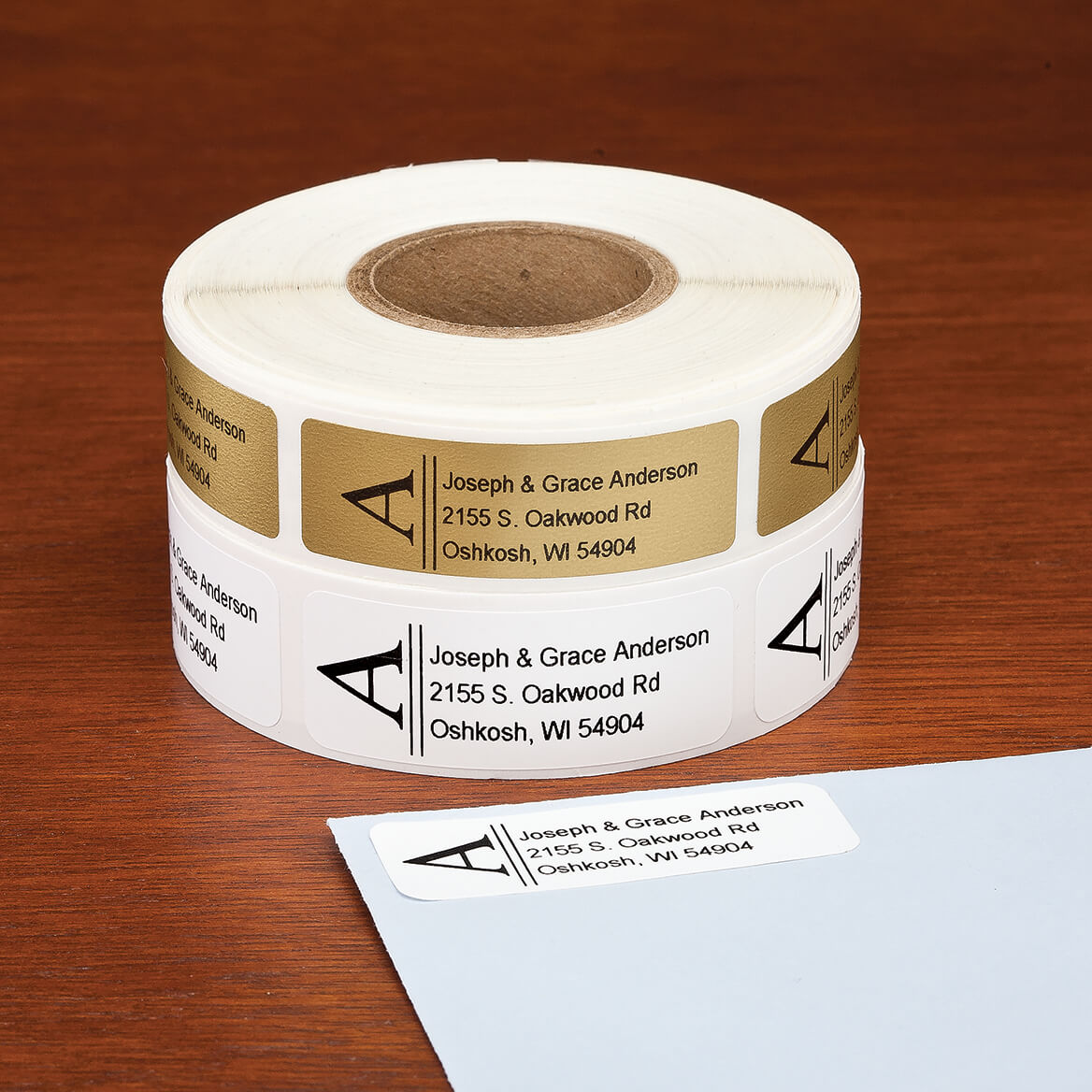 Bold Initial Address Labels, 500-351394