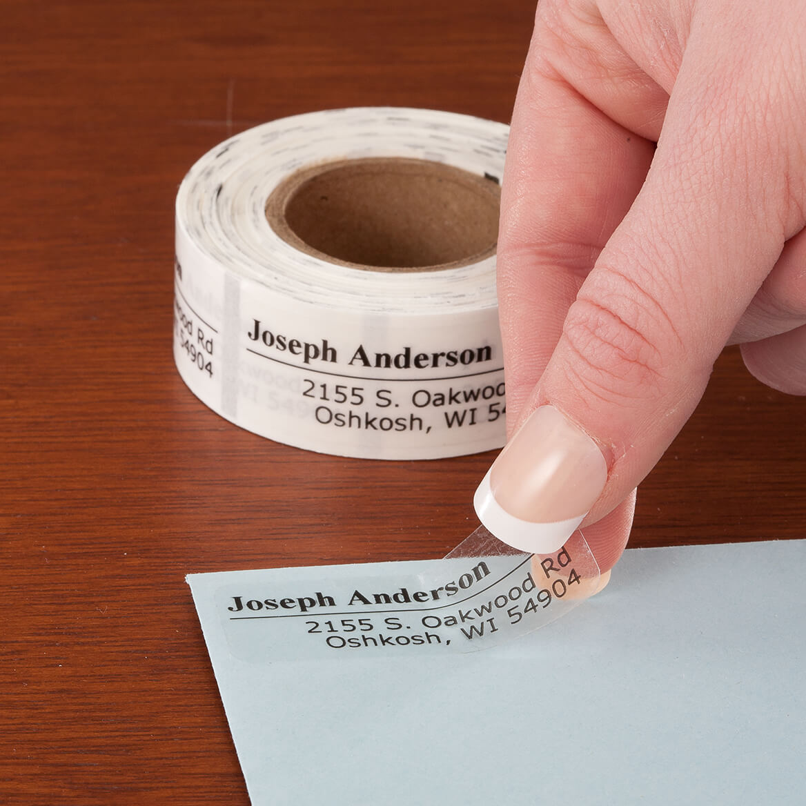 Personalized Off-Centered Address Labels, 200-351402