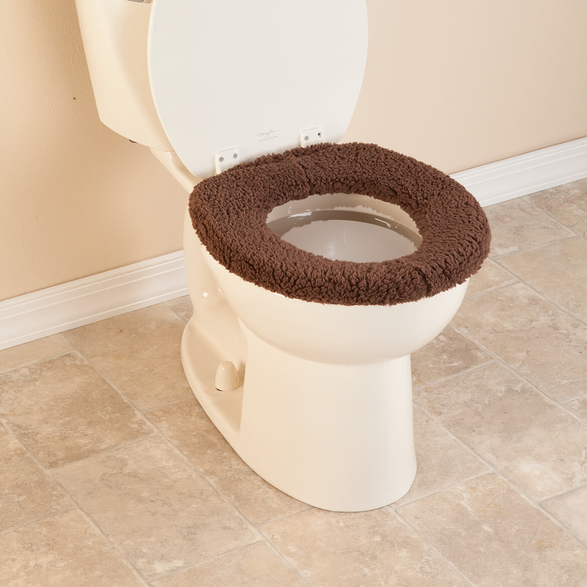 Toilet Seat Covers - Padded Toilet Seat Cover - Home - Miles Kimball