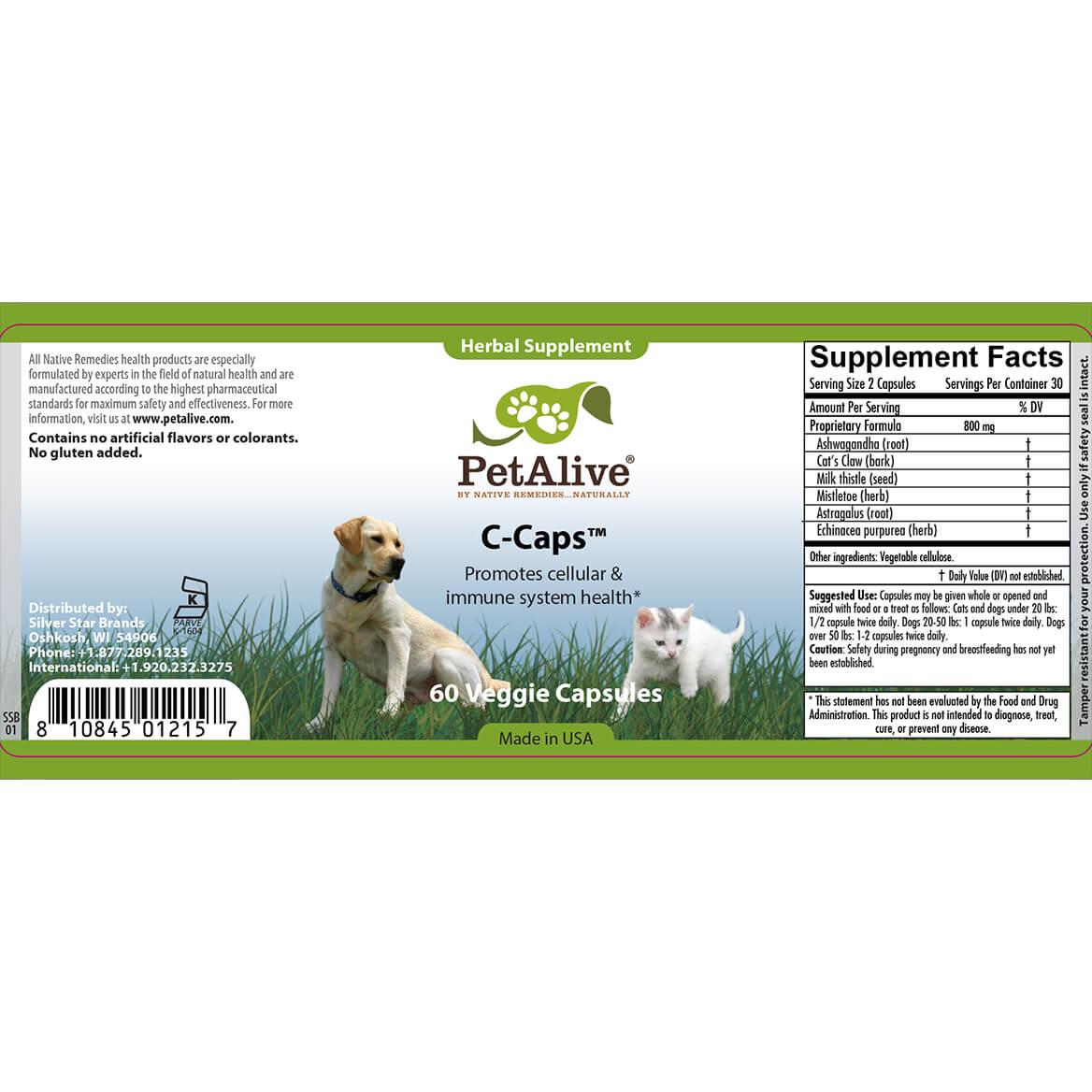 PetAlive® C-Caps™-351588