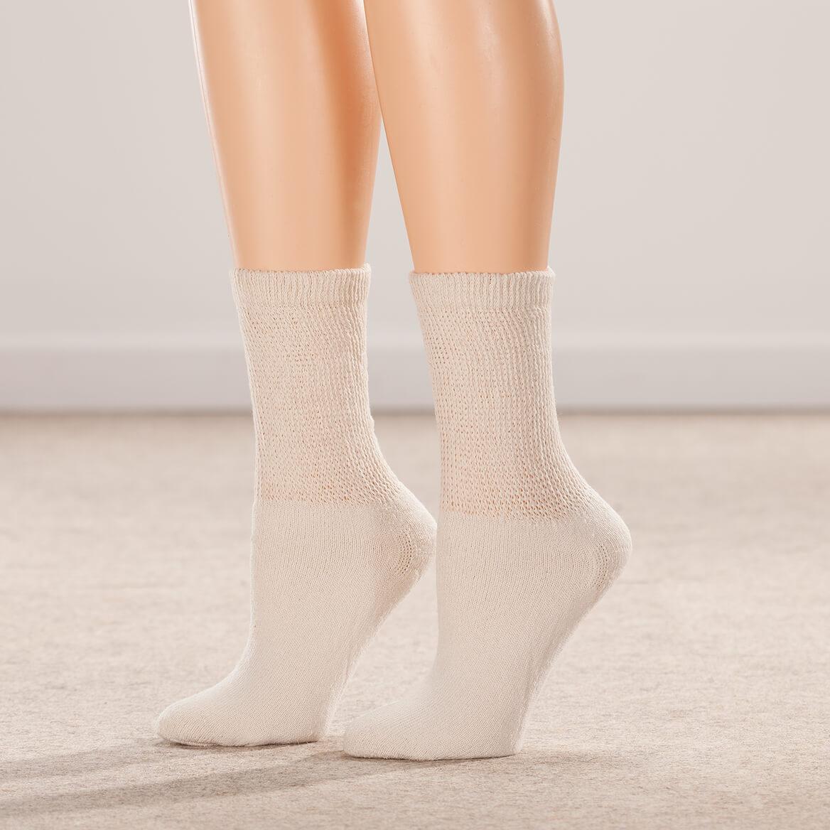 Silver Steps™ 3-Pack Diabetic Socks-351812