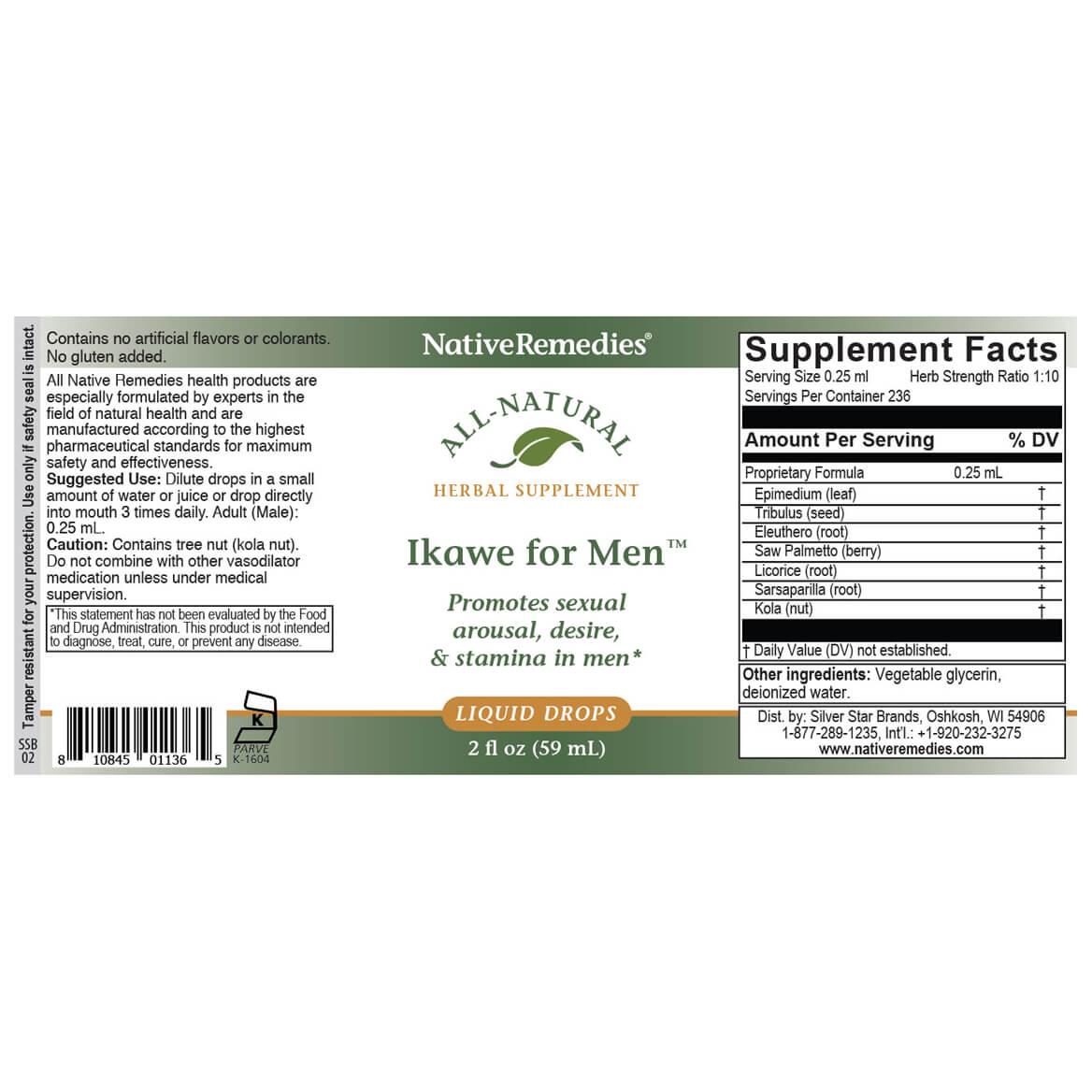 NativeRemedies® Ikawe for Men™-351863