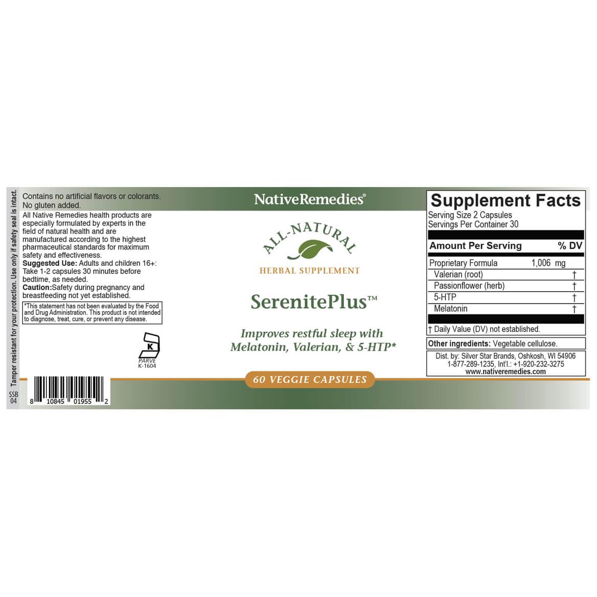 NativeRemedies® SerenitePlus™-351920