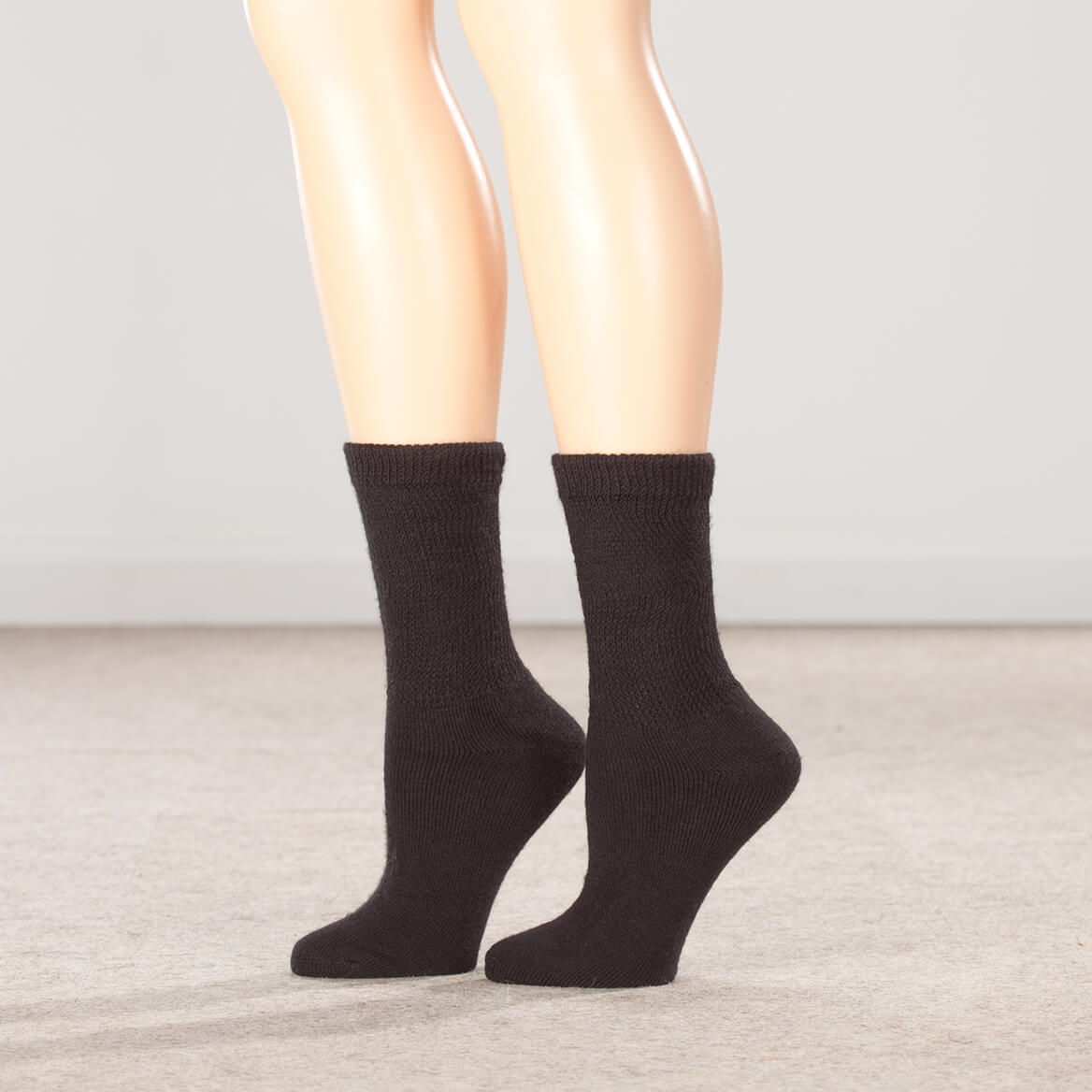 cec21e5306a Diabetic Nylon Ankle Hose - Ankle Compression Socks - Miles Kimball