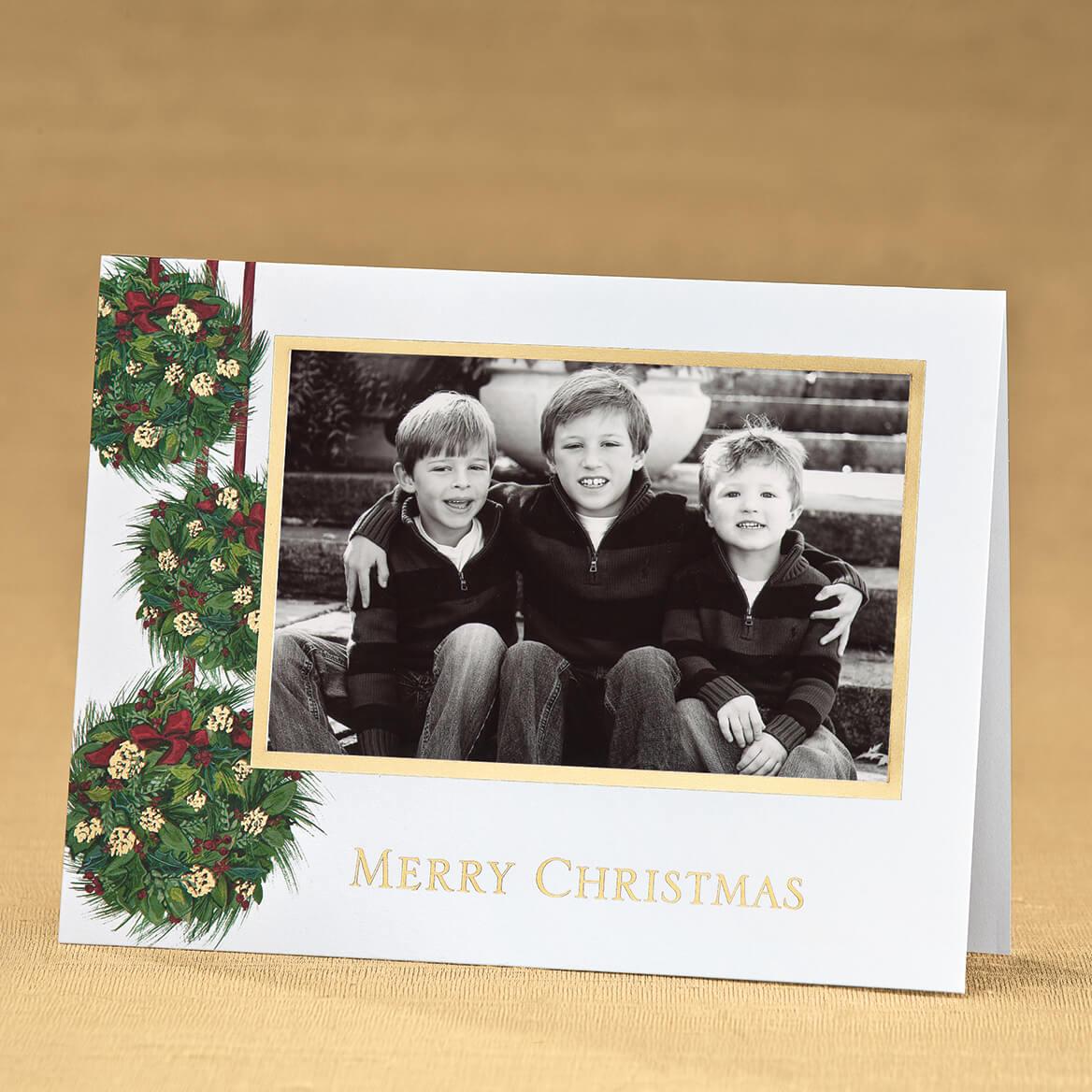Yuletide Greetings Photo Christmas Card Set of 18-352312