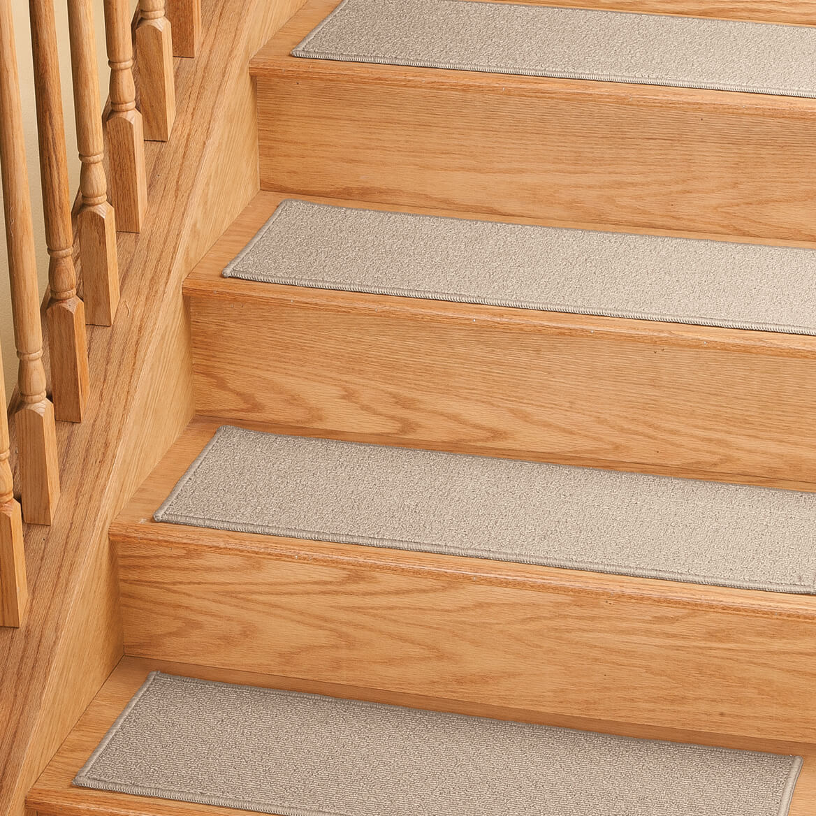 Solid Non Slip Stair Treads