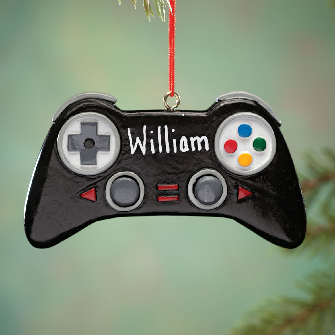 Personalized Video Game Controller Ornament-352849
