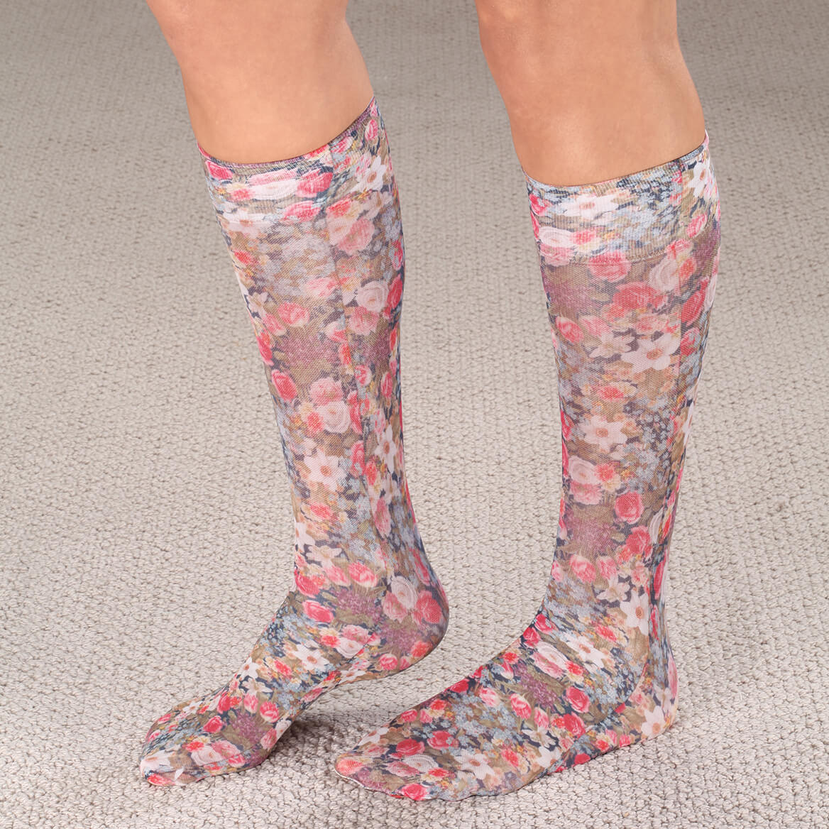 a213fb30db Celeste Stein Compression Socks, 15-20 mmHg - Miles Kimball