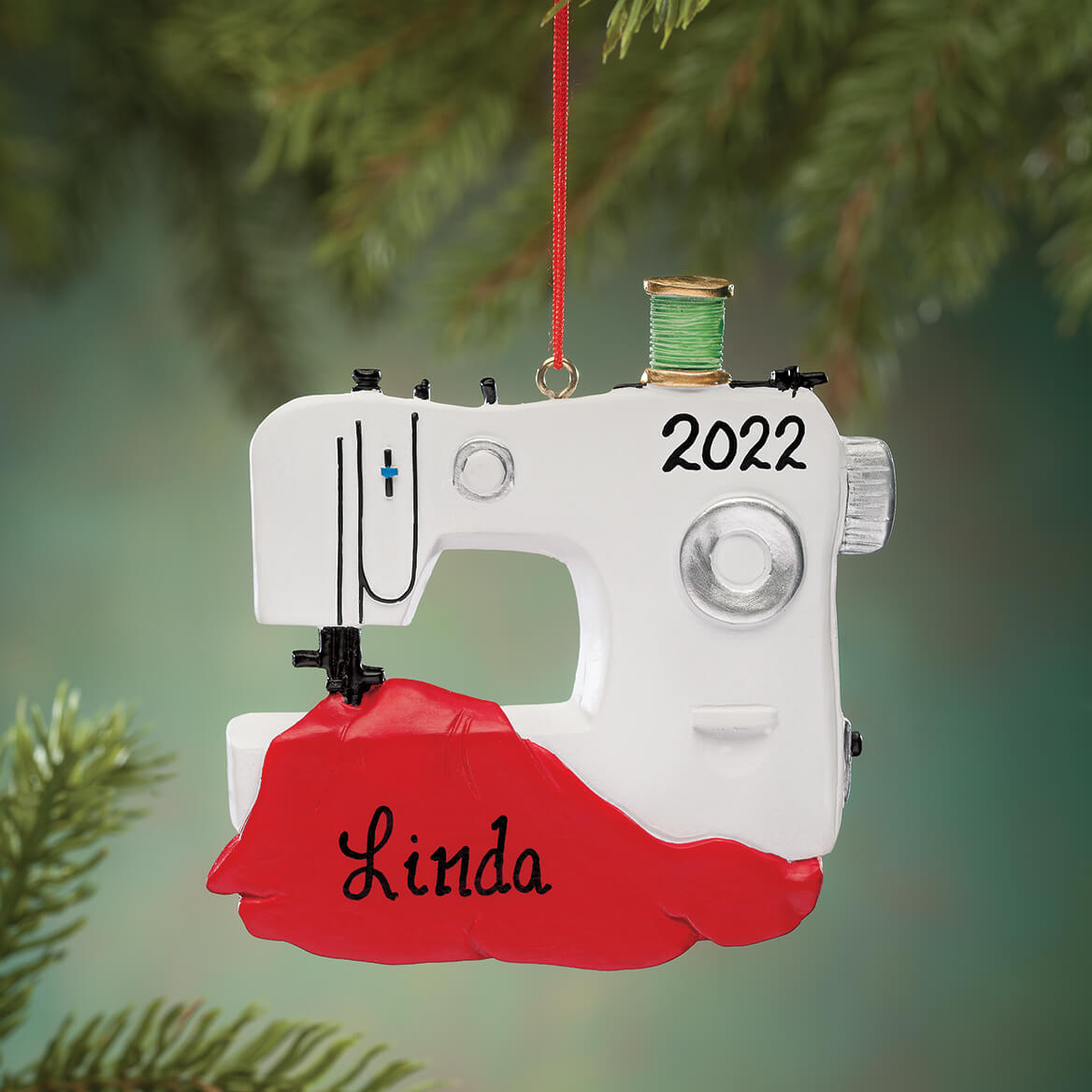 Personalized Sewing Machine Ornament-352925