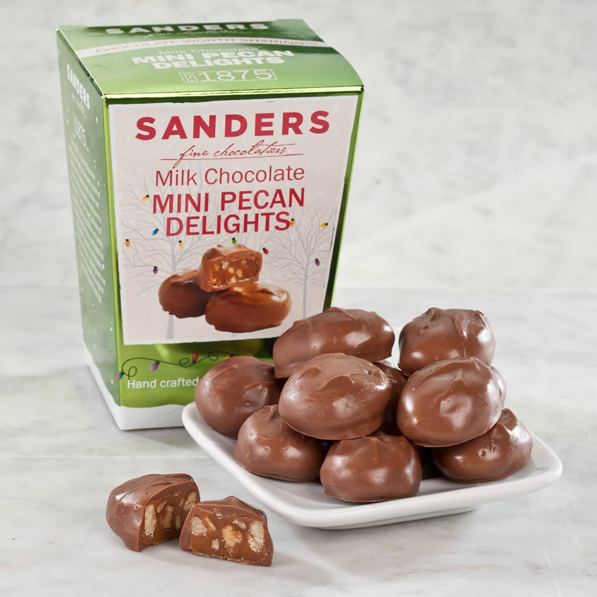Sanders® Milk Chocolate Mini Pecan Delights, 6 oz.-353548