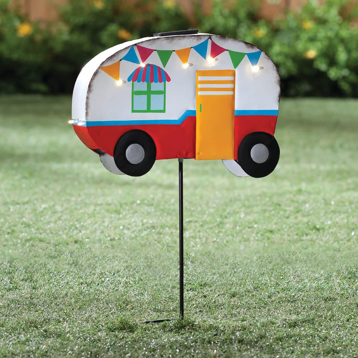 Vintage Camper Yard Stake by Fox River Creations™-353985