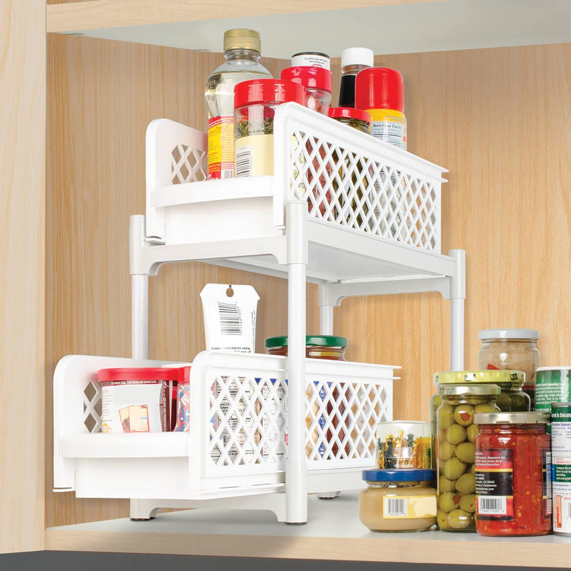 2-Tier Sliding Shelves-353997