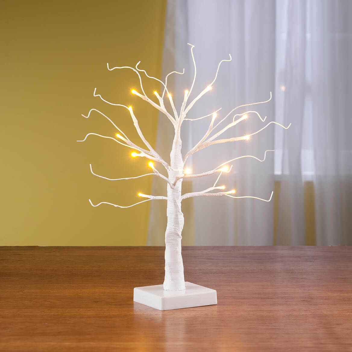 "White Wire 18"" All Seasons Tree-354104"