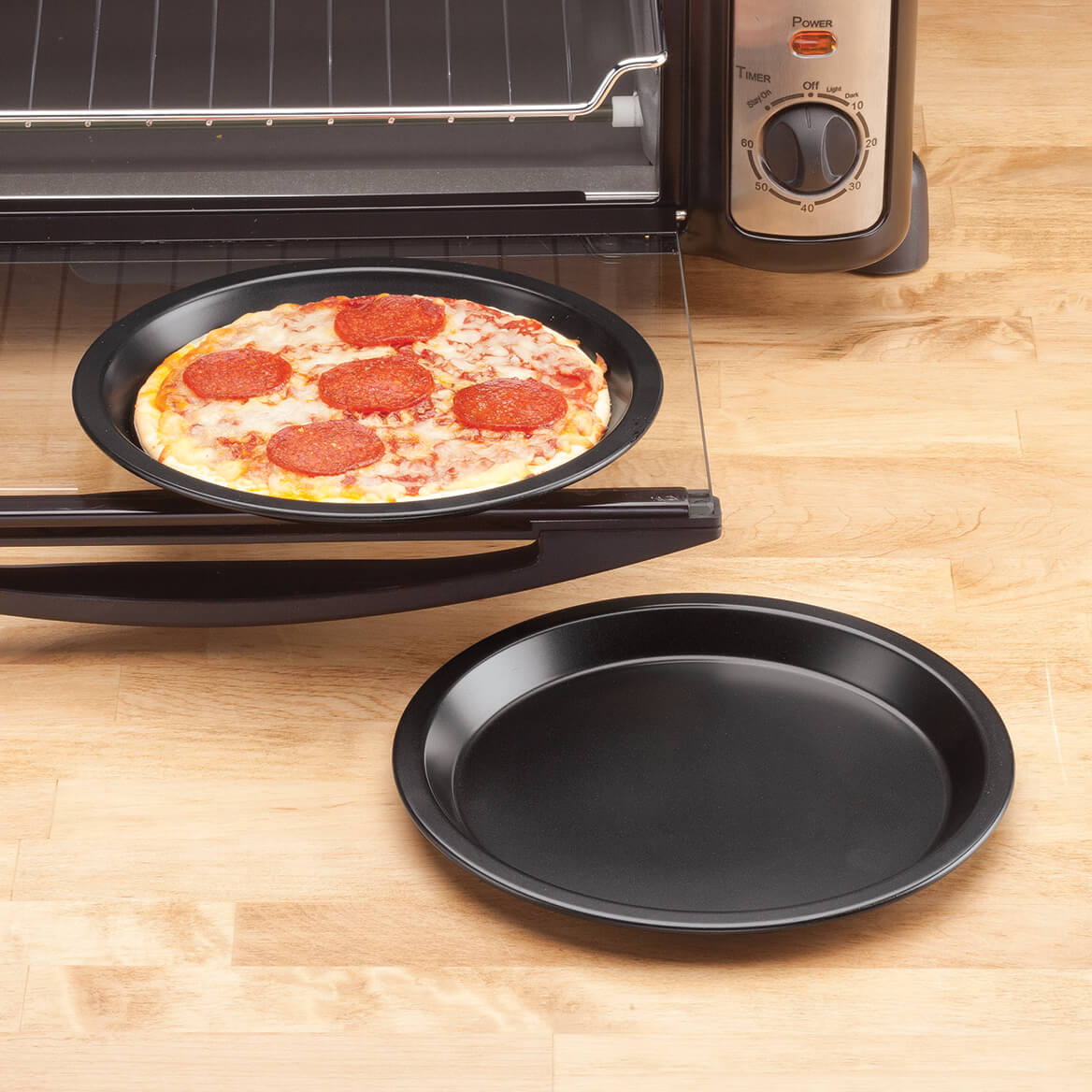 Toaster Oven Pizza Pans by Home-Style Kitchen ™ - Set of 2-354482