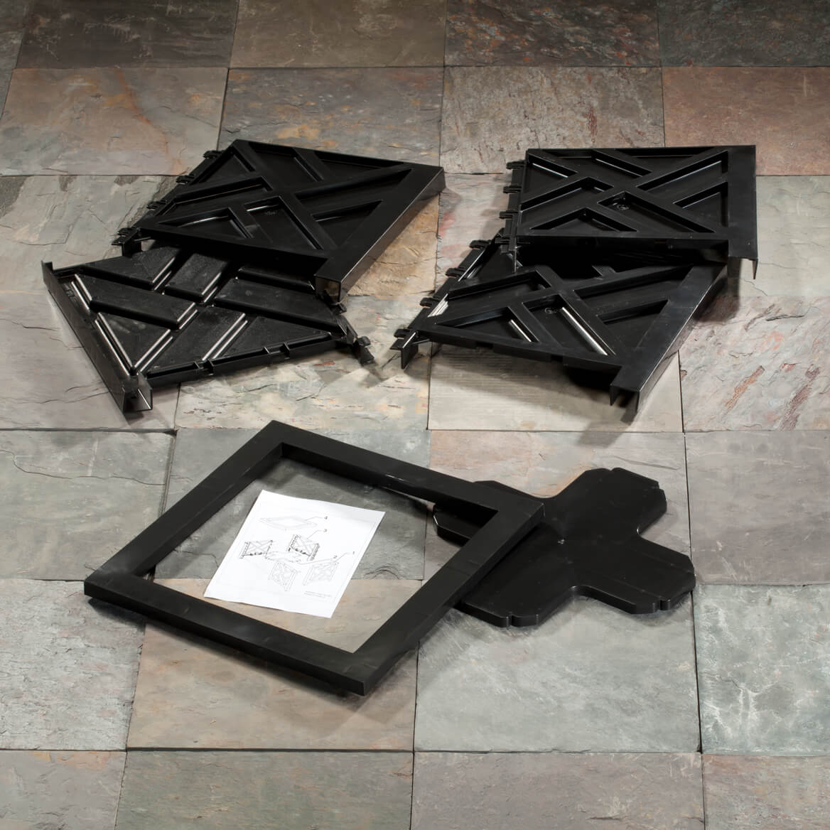 Black Chippendale Planter-354643