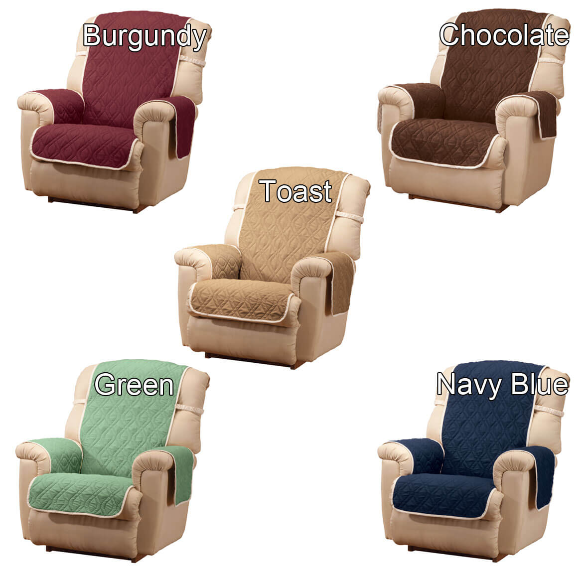 Astonishing Deluxe Reversible Waterproof Recliner Chair Cover Creativecarmelina Interior Chair Design Creativecarmelinacom