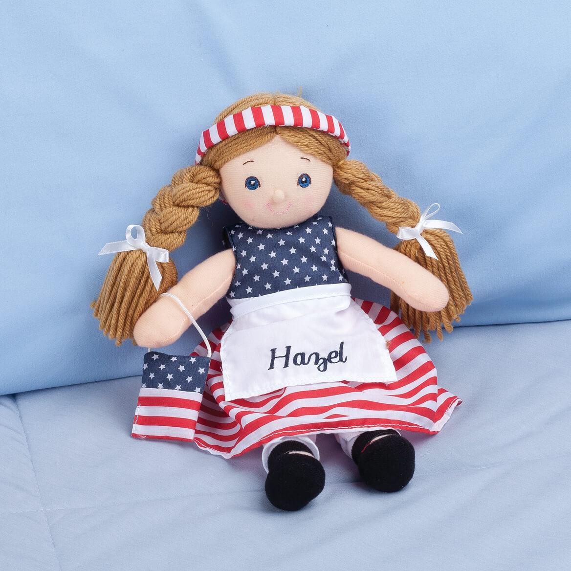 Personalized Little Sister Patriotic Dress-355386