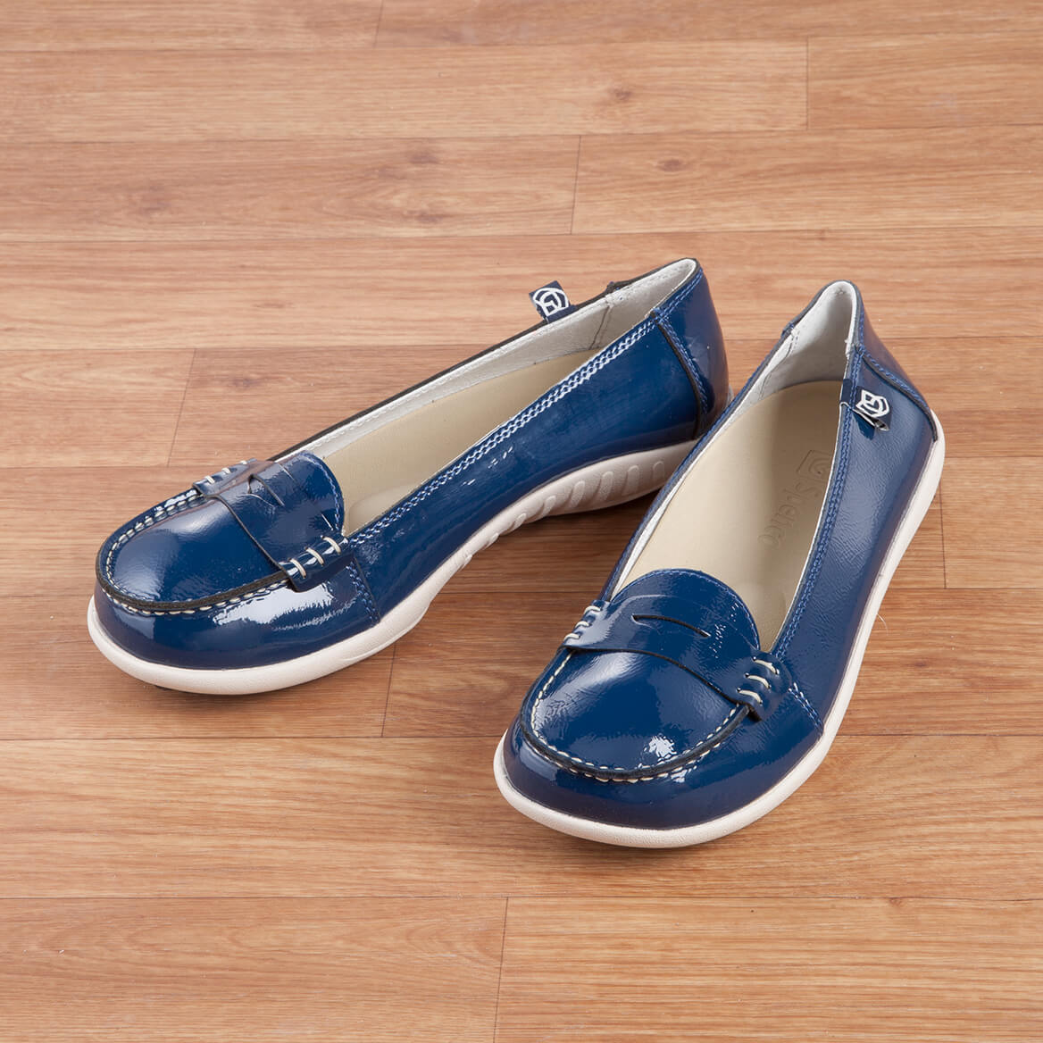 b86bea549cf Spenco Siesta Penny Patent Leather - Loafer Shoes - Miles Kimball