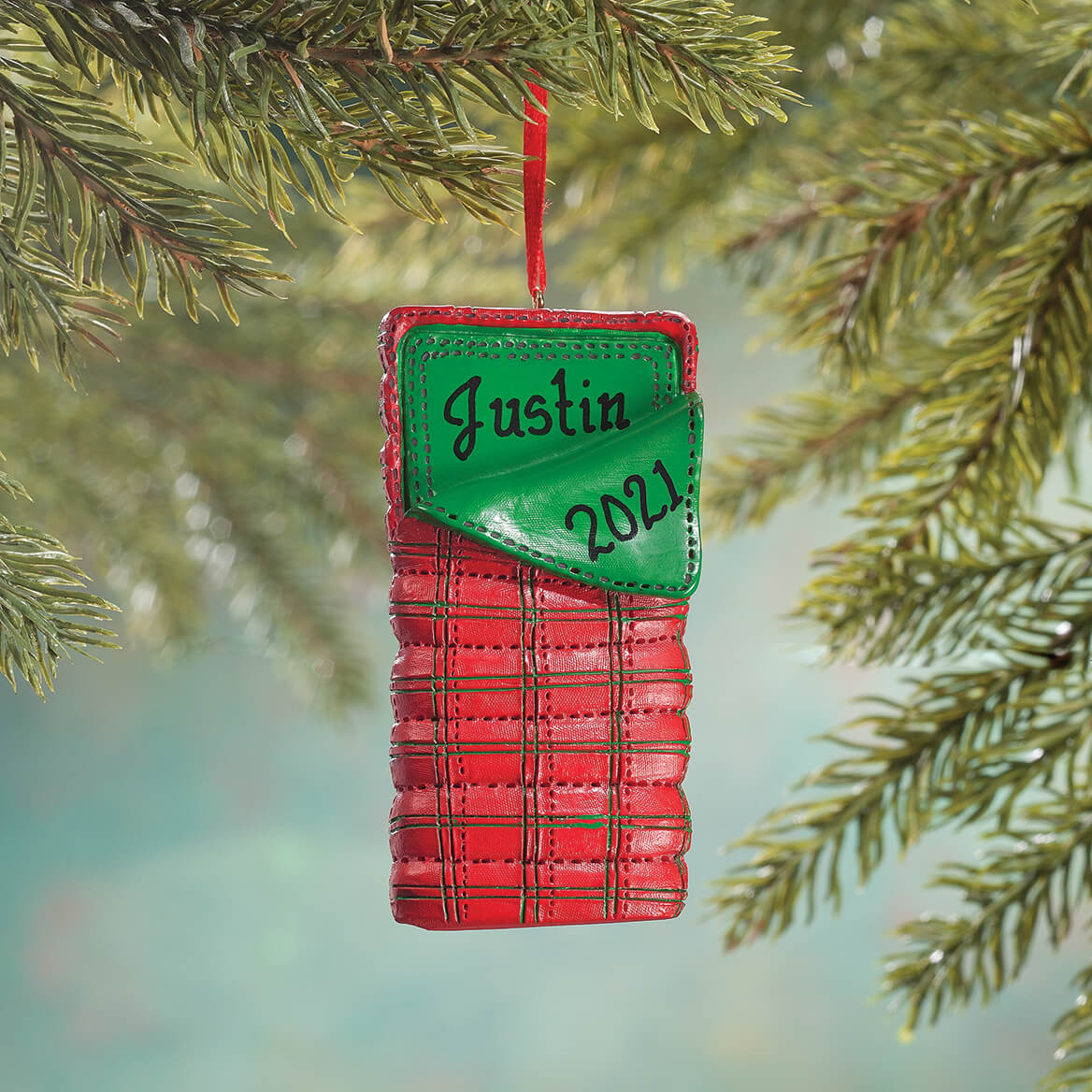 Personalized Sleeping Bag Ornament-356329
