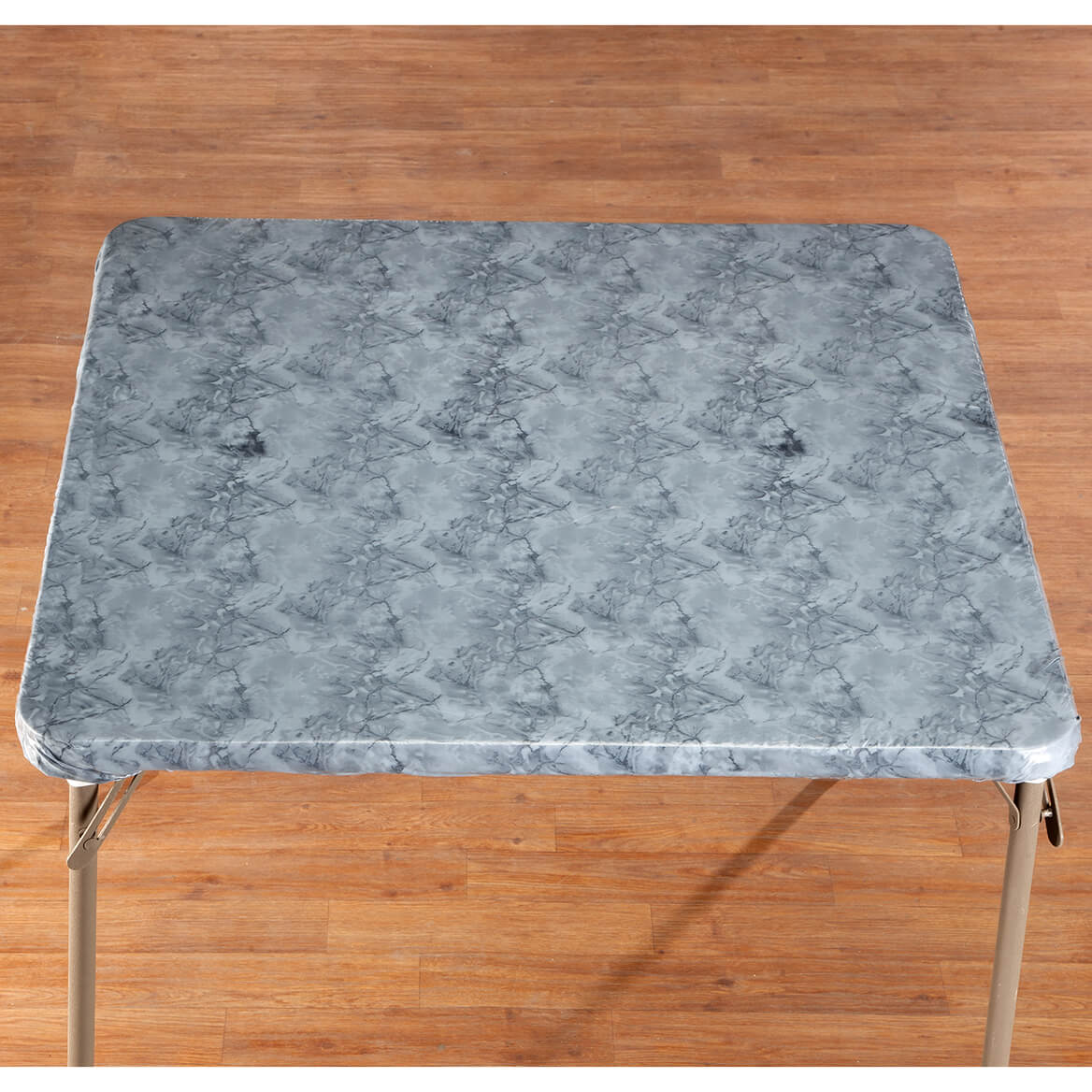 Marbled Elasticized Banquet Table Cover - Marble Table Cover - Miles ...