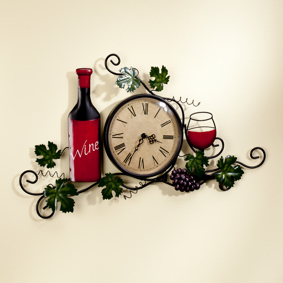 Wine Wall Clock-356768