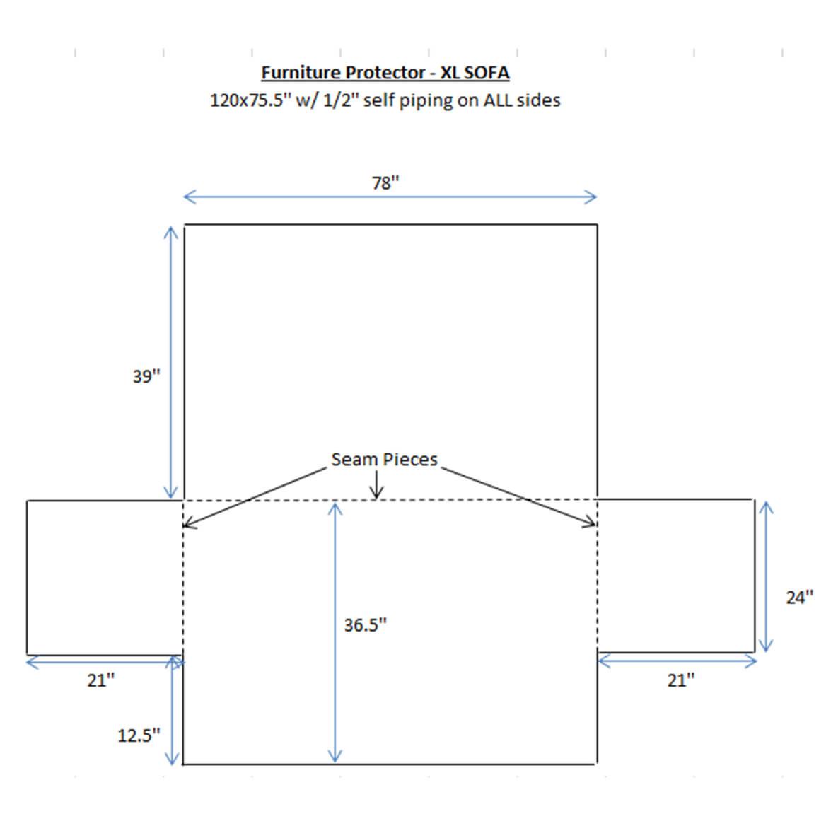 Deluxe Microfiber XL Sofa Cover By OakRidge