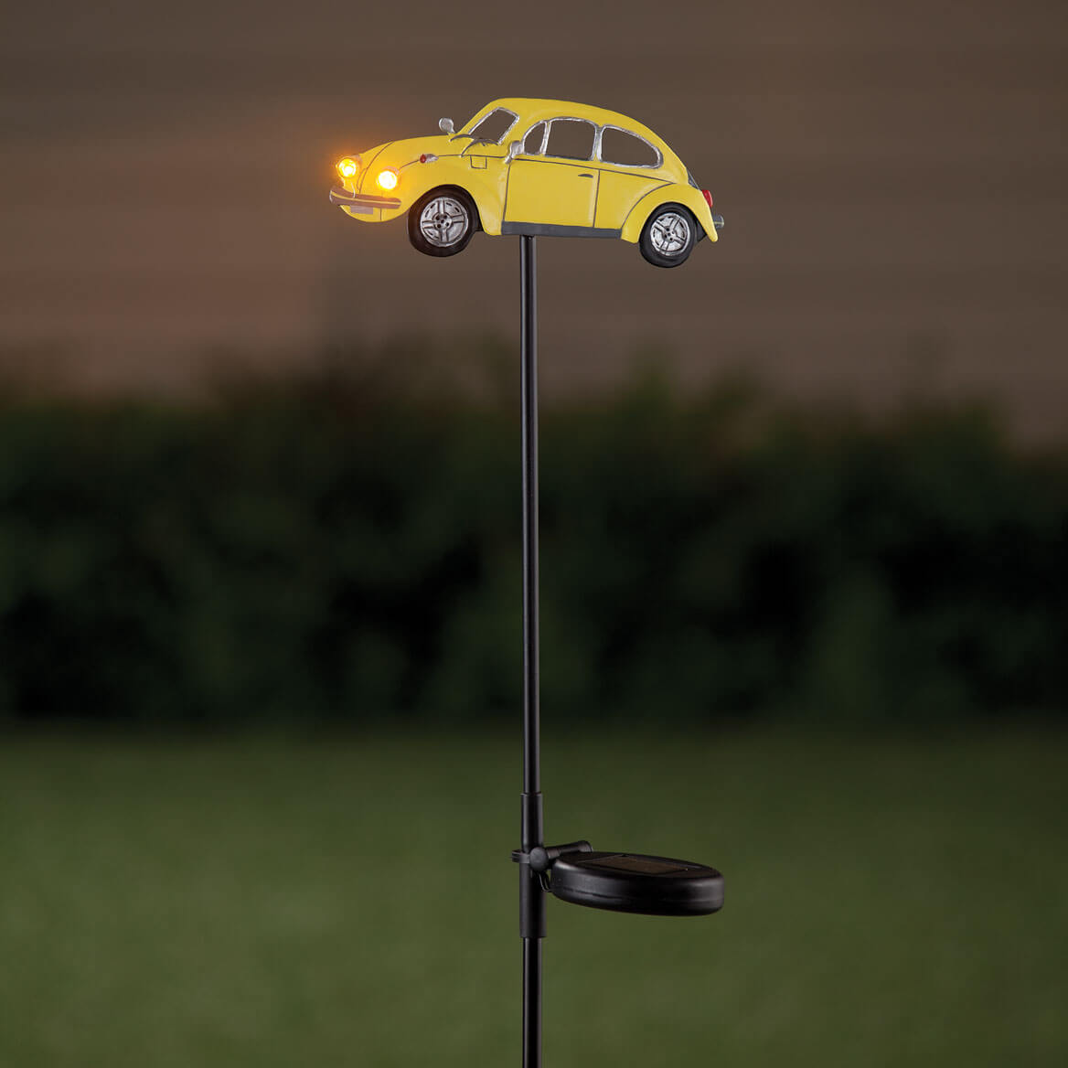 Solar Metal Vintage Car Stake by Fox River Creations™-358387