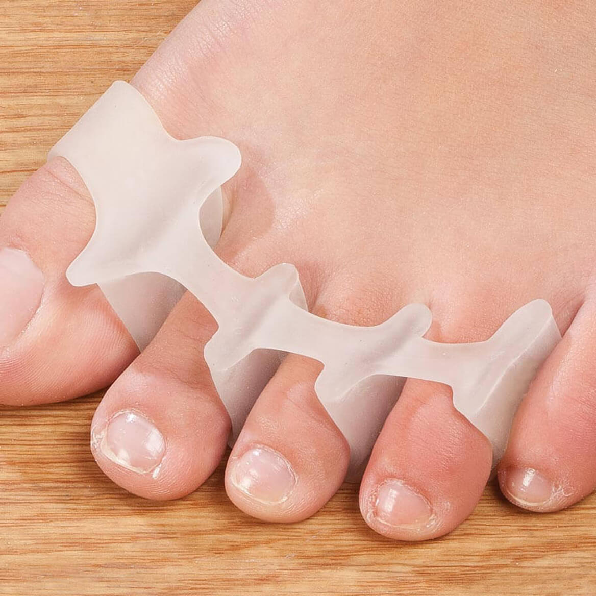 Silver Steps™ Toe Straightener, 1 Pair-358455
