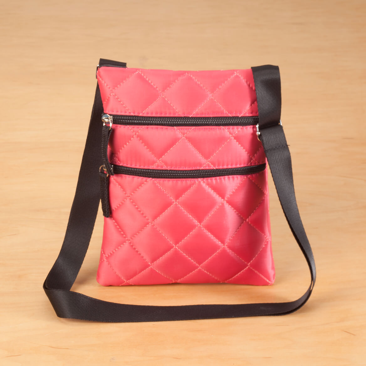 Quilted Crossbody Bag-358497