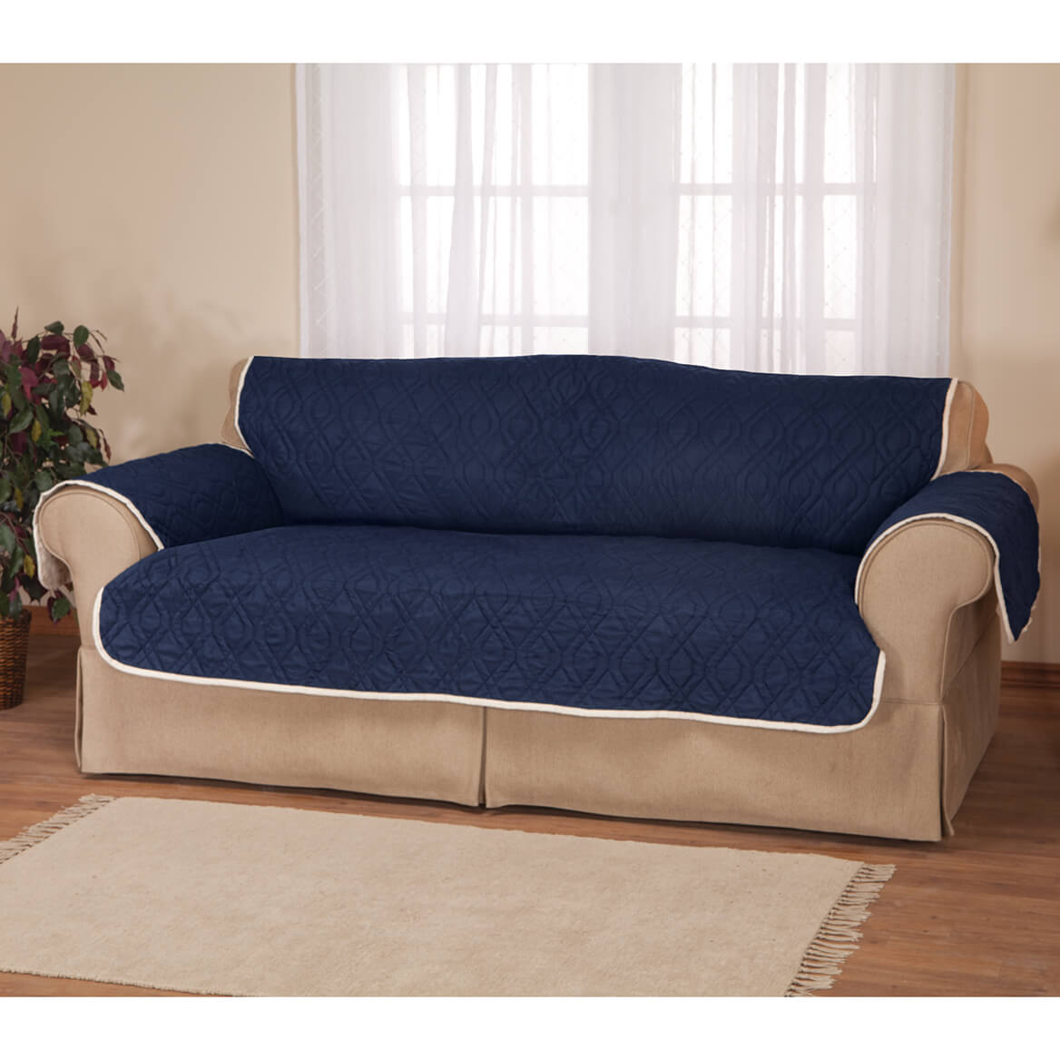 5 Star Reversible Waterproof Sofa Protector-358585