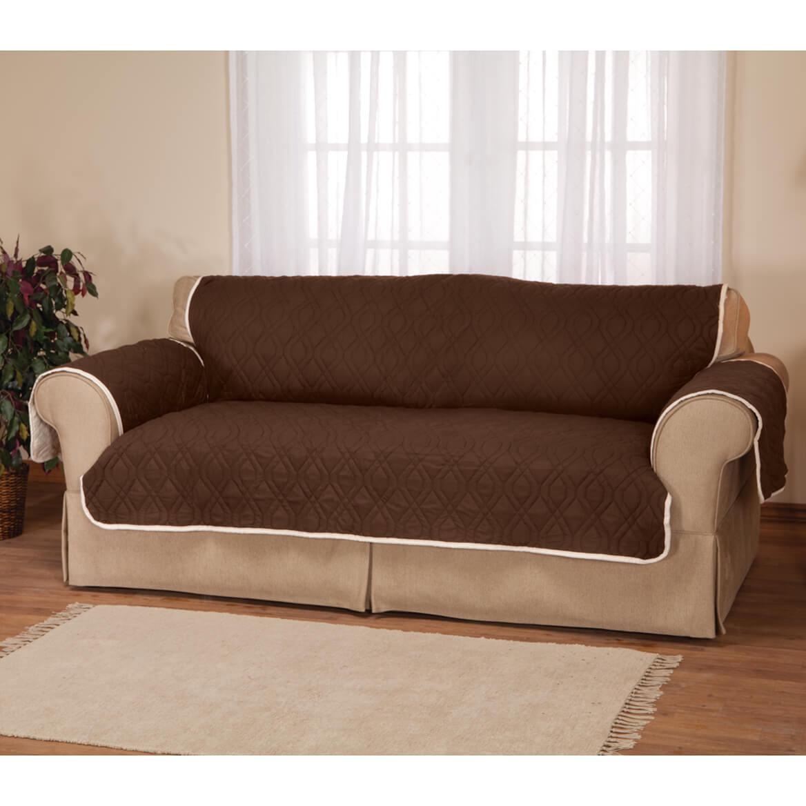 5 Star Reversible Waterproof Extra-Long Sofa Protector-358586