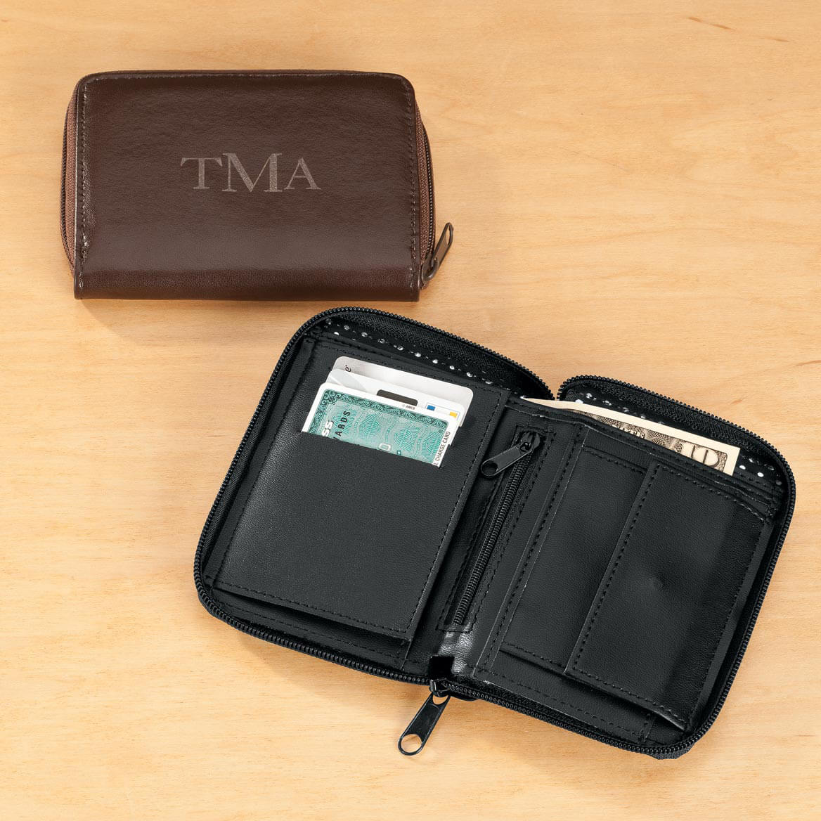 RFID Leather Wallet-359111