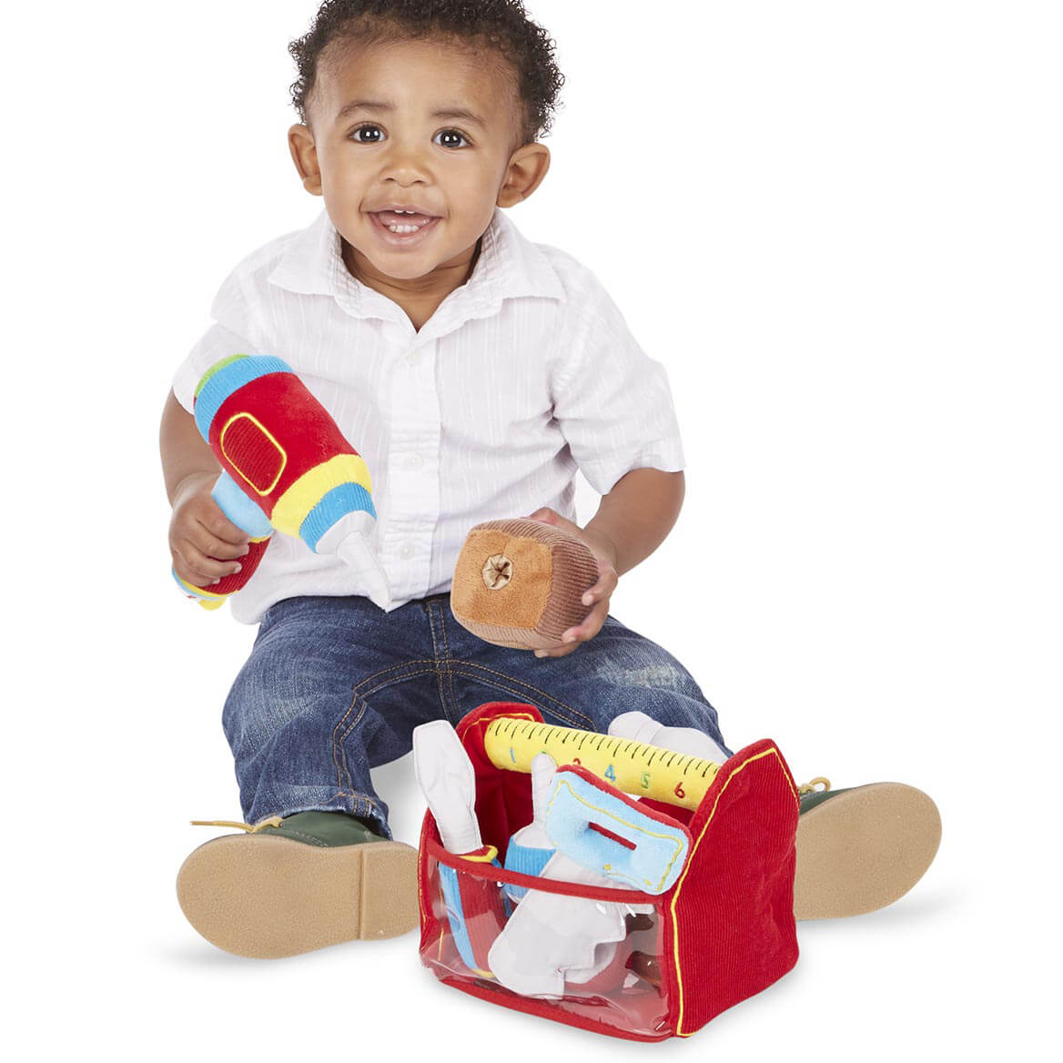 Melissa & Doug® Personalized Toolbox Fill and Spill-359134