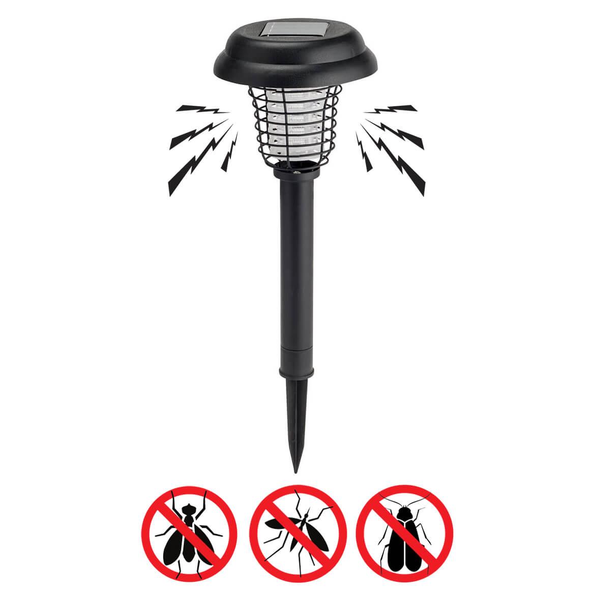 Solar LED Light & UV Bug Zapper by Scare-D-Pest™-359669