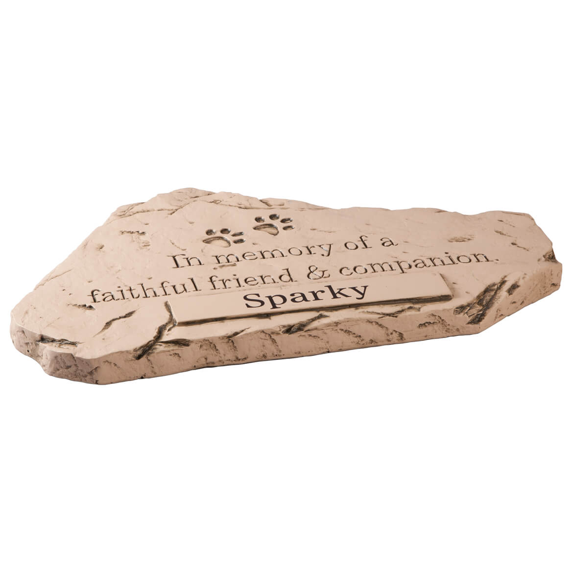 Personalized Faithful Friend and Companion Memorial Stone-359781