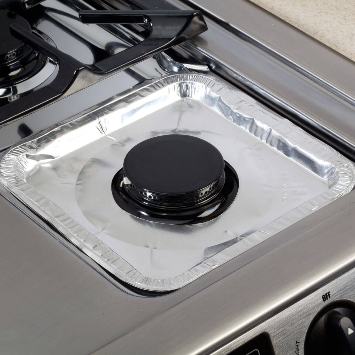 Gas Foil Burner Liners Square Set/10-359835