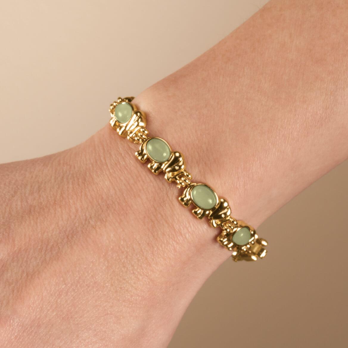 Good Luck Elephant Magnetic Bracelet-360038